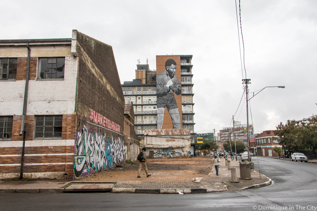 Street Art in New Doornfontein