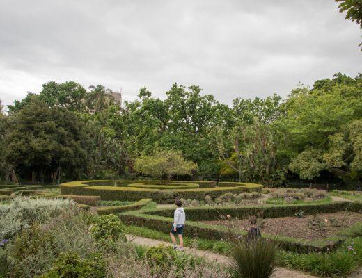 Dominique in the City - The Company's Garden